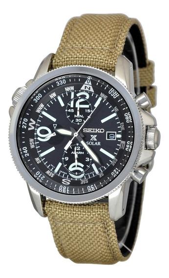 Seiko Prospex Solar Compass Alarme Ssc293p1 - 12x