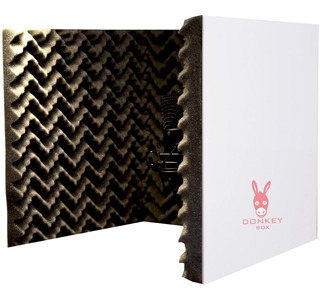 Pantalla/cabina Acustica Reflexion Filter Donkeybox