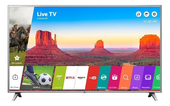 Smart Tv Led Lg 86 Uk6570 Hdr Ultra Hd Ips 4k Webos