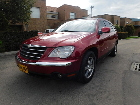 Chysler Pacifica, 2008, Roja, Full Equipo