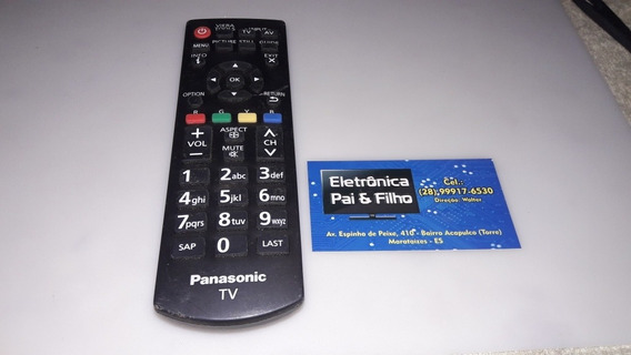 Controle Remoto Tv Panasonic Led. Original