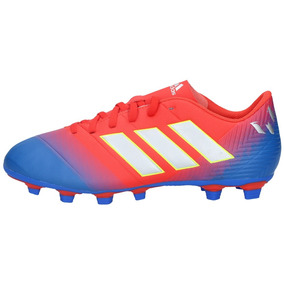 Zapatos Fútbol adidas Hombre Nemeziz Messi 18-4 Fxg Rojoazul