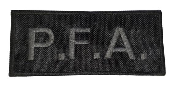 Oblea Bordada Parche Escudo Policía Federal Pfa