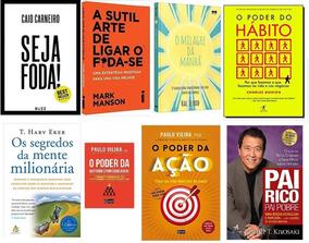 O Poder Do Hábito + Seja Foda! + Pai Rico + 5 Livros