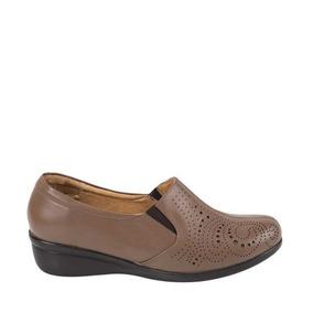 Zapato Confort Shosh Confort 4200 Cof 825004 Piel Napa 4 Cm