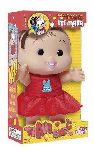 Boneca Turma Da Mônica Iti Malia Monica 23 Cm - Baby Brink