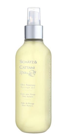 Aceite Para Masaje Schätz & Cattani Spa Olive Rosemary 250 M