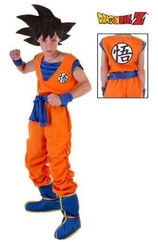 Disfraz De Goku Dragón Ball Z Somos Fabricantes