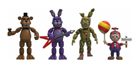 Funko Figures Colecionáveis Five Nights At Freddy