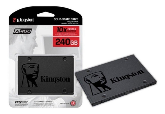 Ssd 240gb Kingston A400 Sata 6gb/s 2.5 Pol. Lacrado