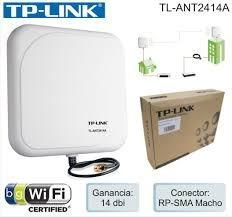 Antena Tp-link Tl-ant2414a Direccional (110 Americanos)