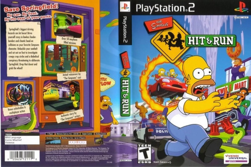 Simpsoms Hit Run Games Patch Ps2