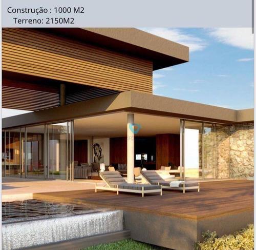 Imagem 1 de 10 de Casa Com 5 Dormitórios À Venda, 1000 M² Por R$ 18.000.000,00 - Alphaville - Santana De Parnaíba/sp - Ca1619