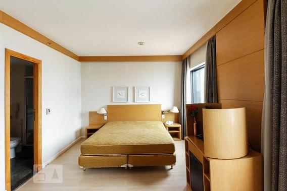 Studio No 14º Andar Mobiliado Com 1 Dormitório E 1 Garagem - Id: 892991140 - 291140