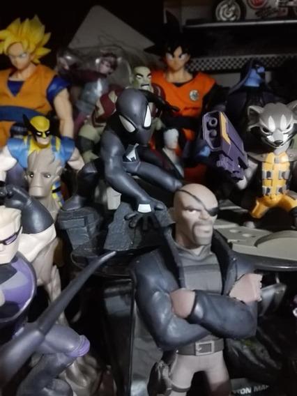 Spiderman Black Traje Negro Disney Infinity Figura Marvel