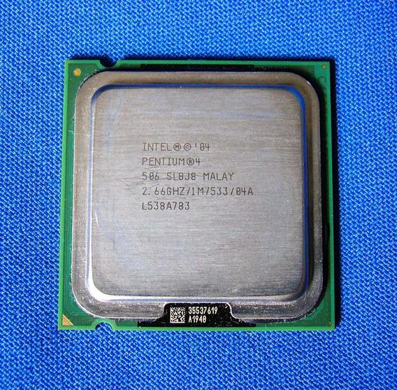 Processador Intel® Pentium® 4 506 2.66ghz Lga 775 1mb 533fsb