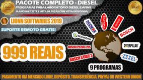 Pacotão De Programas Diesel - Tabelas E Peças (9 Programas)