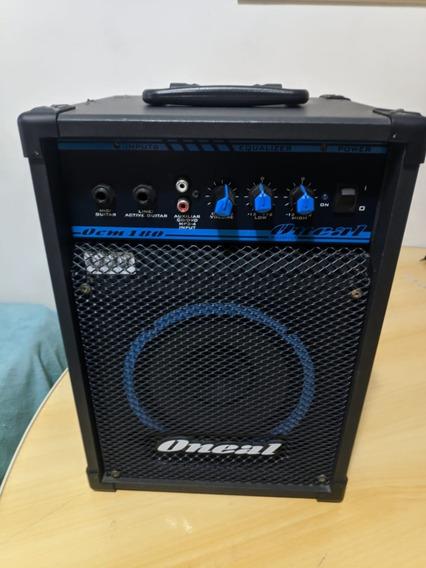 Caixa Amplificada Ocm-180 Multiuso 30w Rms Oneal