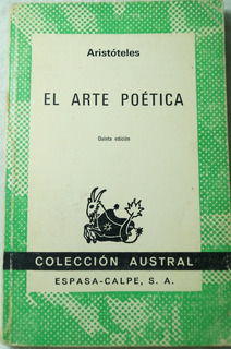 El Arte Poética / Aristóteles