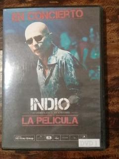 Indio En Concierto La Película Dvd 1 Y 2