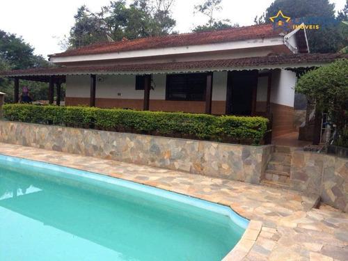 Chácara À Venda, 4000 M² Por R$ 700.000,00 - Jardim Estância Brasil - Atibaia/sp - Ch1329