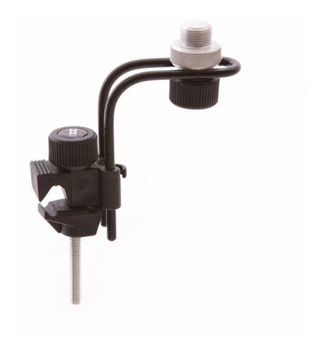 Clamp P/ Microfonar Bateria Percussão C/ Ajuste Posição B10