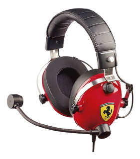 Auriculares Gaming Headset Ferrari Thrustmaster Pc Ps4 Xbox