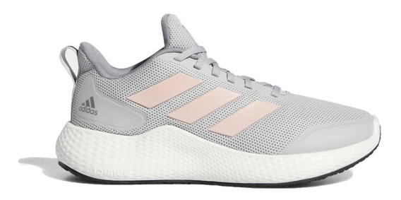 adidas Zapatillas Running Niña Edge Gameday Gris-rosa
