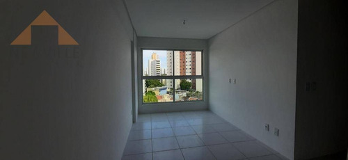 Apartamento Com 2 Quartos Para Alugar, 50 M² Por R$ 2.299/mês Com Taxas- Casa Forte - Recife - Ap2457