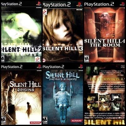 Ps2 - Silent Hill - 5 Dvds - Patch Desbloqueado