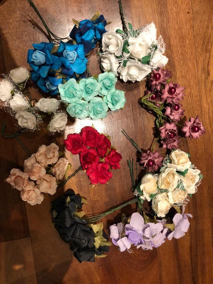 Súper Oferta!! Flores De Papel Surtidas X 50u.
