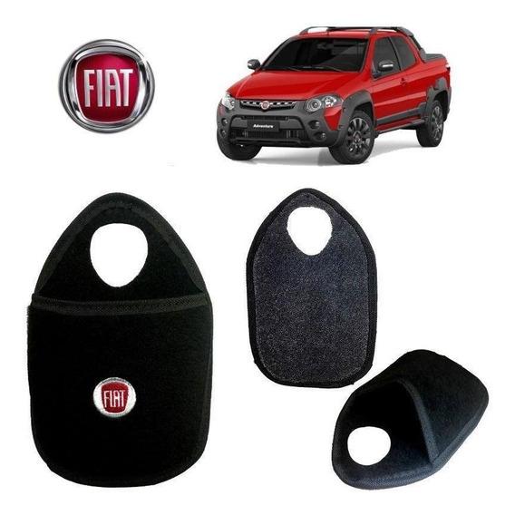Lixeira De Carro Bordada Fiat Strada Bordado