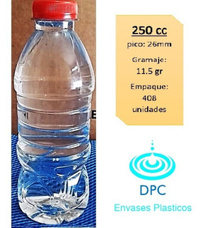 Botella Plástica 250, 300, 360, 400, 500ml, 1,5, 20l X Mayor