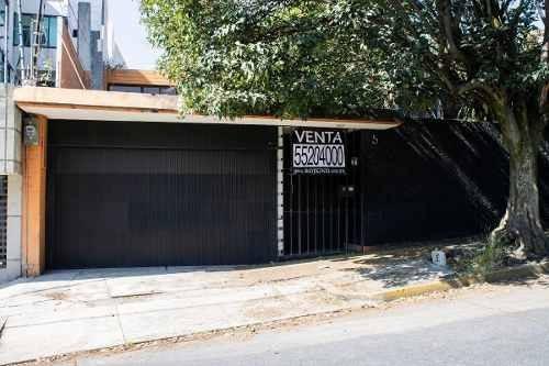 Casa Con Terreno Amplio Para Remodelar Lomas De Tecamachalco