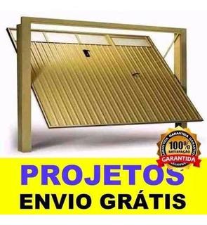Projeto Portao De Ferro Basculante Ideal Para Serralheria
