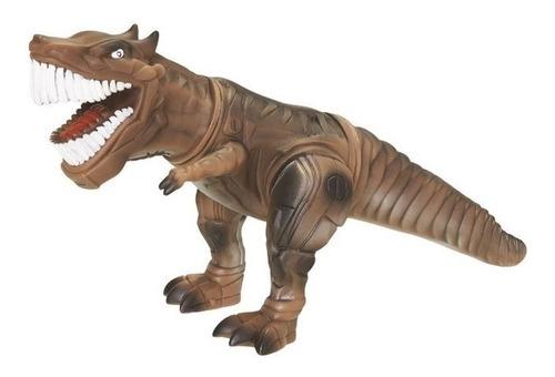 Brinquedos Dinossauro T-rex Sonoro Robossauro Com Som