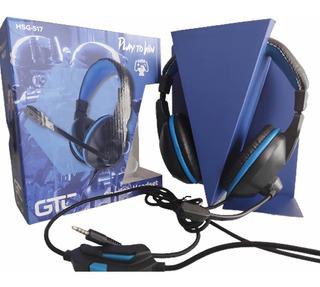 Auricular Gamer Playstation Ps4 Mic Xbox Celular Notebook Cb