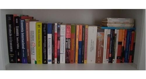 Lote De 44 Livros Usados - Economia E Outros - Frete Grátis