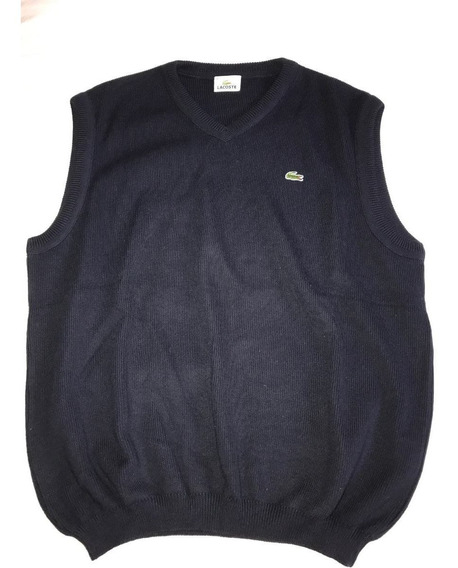 Chaleco Lacoste Hombre Talle 5 Impecable