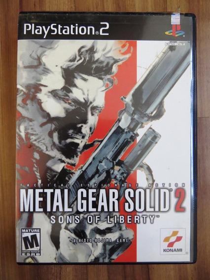 Metal Gear Solid 2 Ps2 Original Sons Of Liberty