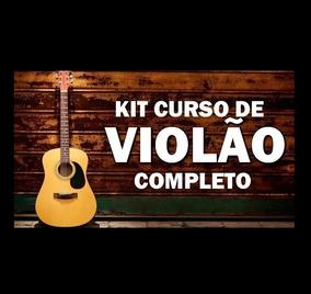 Kit Violão: Curso + Violao Gospel + 30000 Cifras + Videoaula