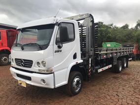 Mb 915 C Acello Truck Com Carroceria E Munck Tka