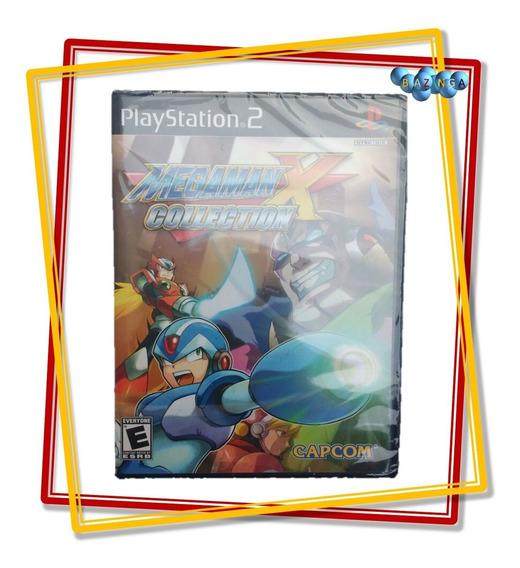 Mega Man X Collection Original Com 7 Jogos - Novo E Lacrado