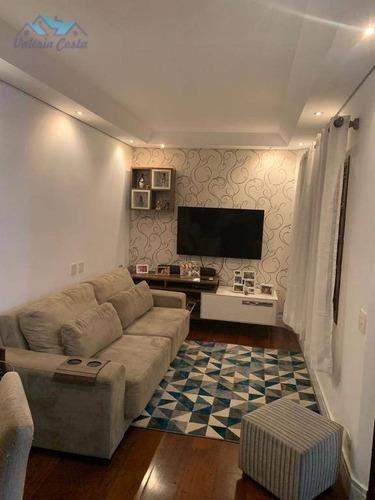 Imagem 1 de 18 de Sobrado Com 3 Dormitórios À Venda, 126 M² Por R$ 570.000,00 - Vila Maria Baixa - São Paulo/sp - So0007