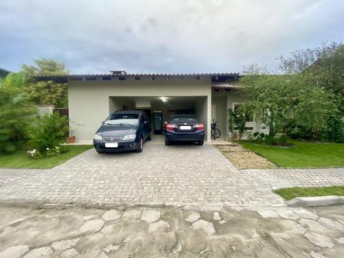 Casa Condomínio Fechado Santo Antonio   1 Suíte + 2   206 M² Construídos   2 Vagas De Garagem Individuais - Sa01908 - 69395972