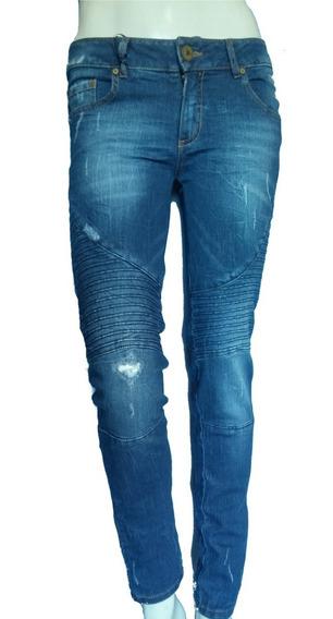 Jeans Studio F Stertch, Bolsos Traseros Pump Up 6131 Xs,l