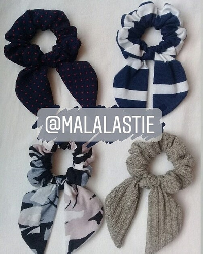 Accesorios Para El Cabello Marca Malala's Tie Colitas Balac