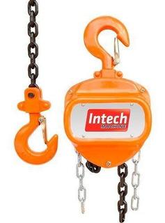 Talha Manual 1 T Com Corrente De 3 Metros Intech Machine