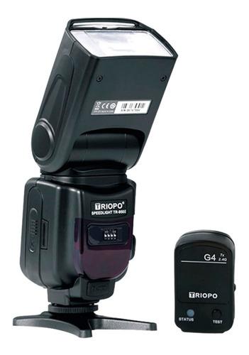 Imagen 1 de 10 de Flash Triopo Tr950ii P/ Canon Nikon Fuji + Emisor G4 Triopo