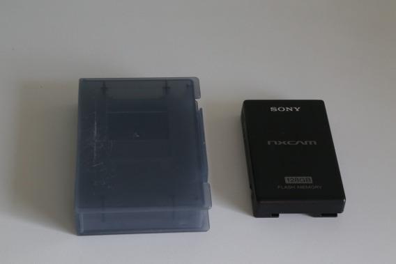 Hd Unidade De Gravação Memoria Flash 128gb - Sony Hxr-fmu128